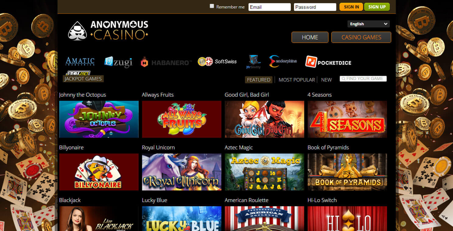 Anonymous Casino Image 1