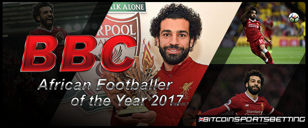 Mohamed Salah receives BBC African Footballer of the Year 2017
