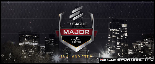 ELEAGUE Major Boston 2018 Odds Favor FaZe & SK Gaming