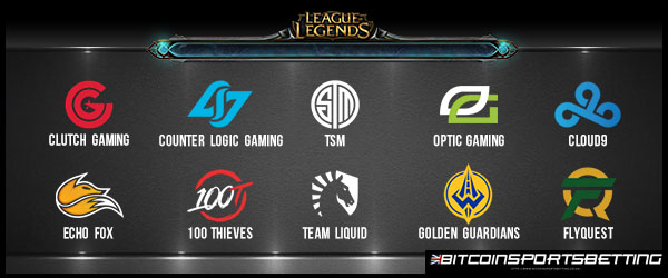 10 Teams in NA LCS Spring Split 2018