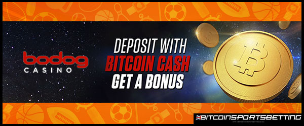 Bodog Accepts Bitcoin Cash Deposits