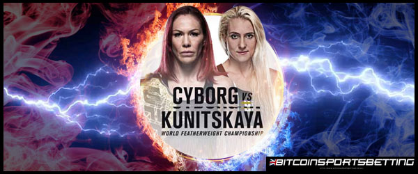 Cyborg Dominates Betting Odds for UFC 222 Main Event