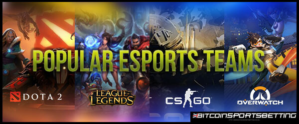 6 High-Ranking Esports Teams Based on Overall Earnings