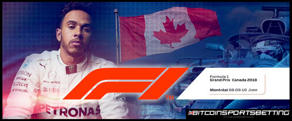 Hamilton Favored to Win His 7th Canadian GP Title
