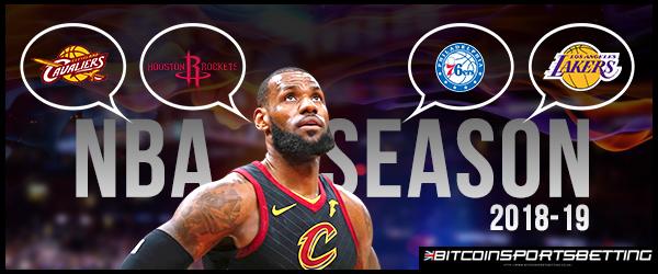 Bookmakers Predict LeBron James's 2018-19 Team