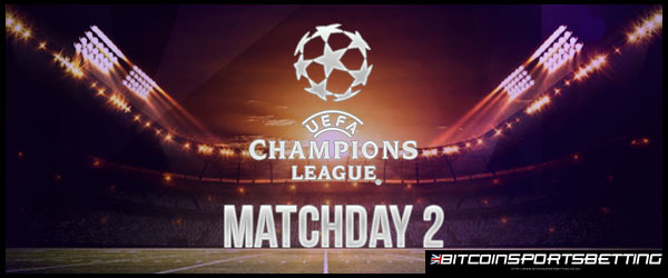 Sportsbooks Favor Top-Ranked Teams to Win Matchday 2 of UEFA
