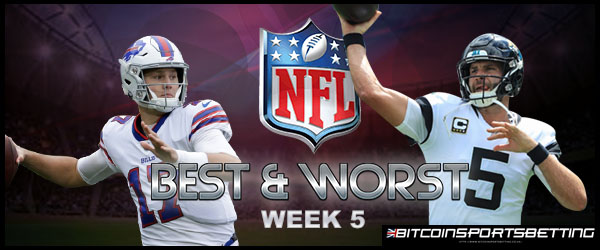 Best and Worst Moments from NFL Week 5