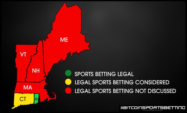 New England Sports betting Legalizations