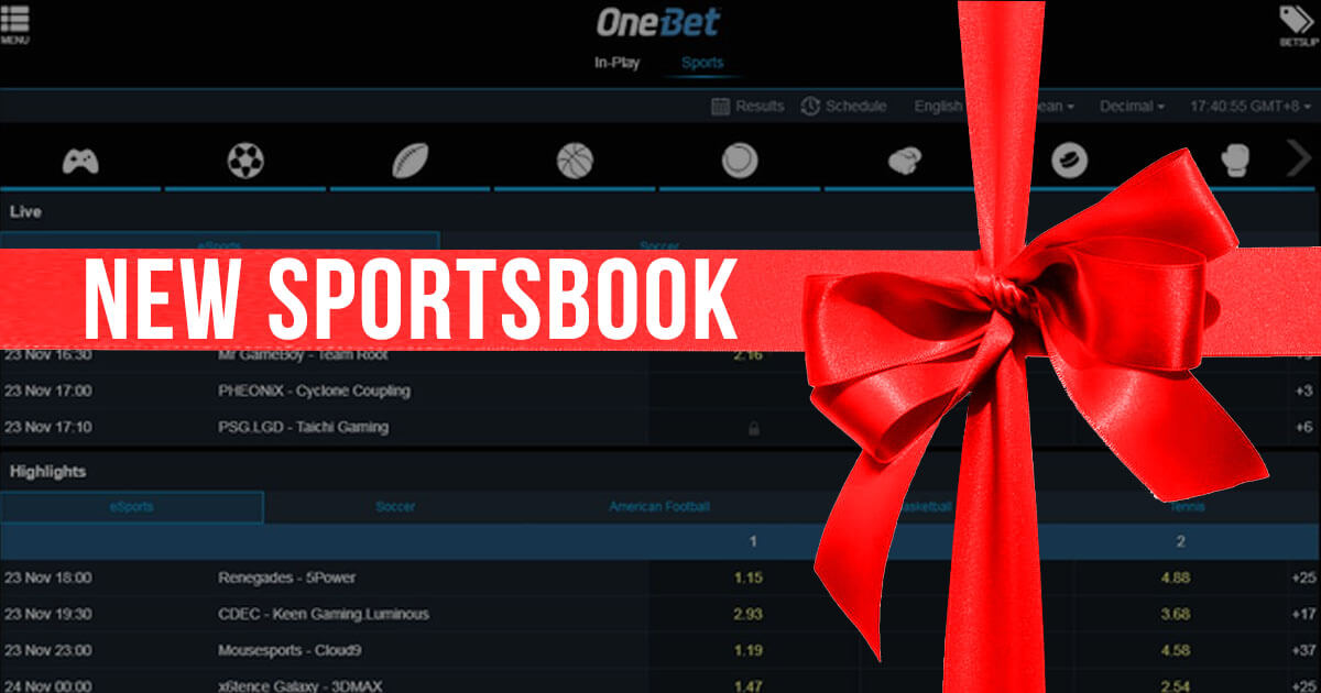 mBit's All-New Sportsbook Now Operates as OneBet.io