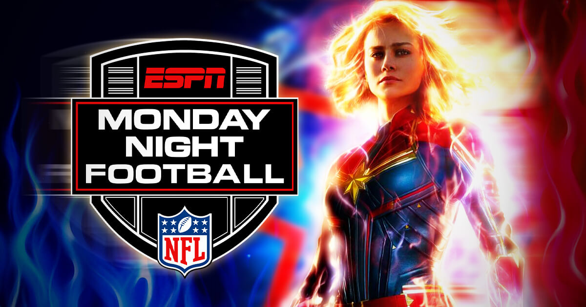New Captain Marvel Trailer to Drop During Monday Night Football