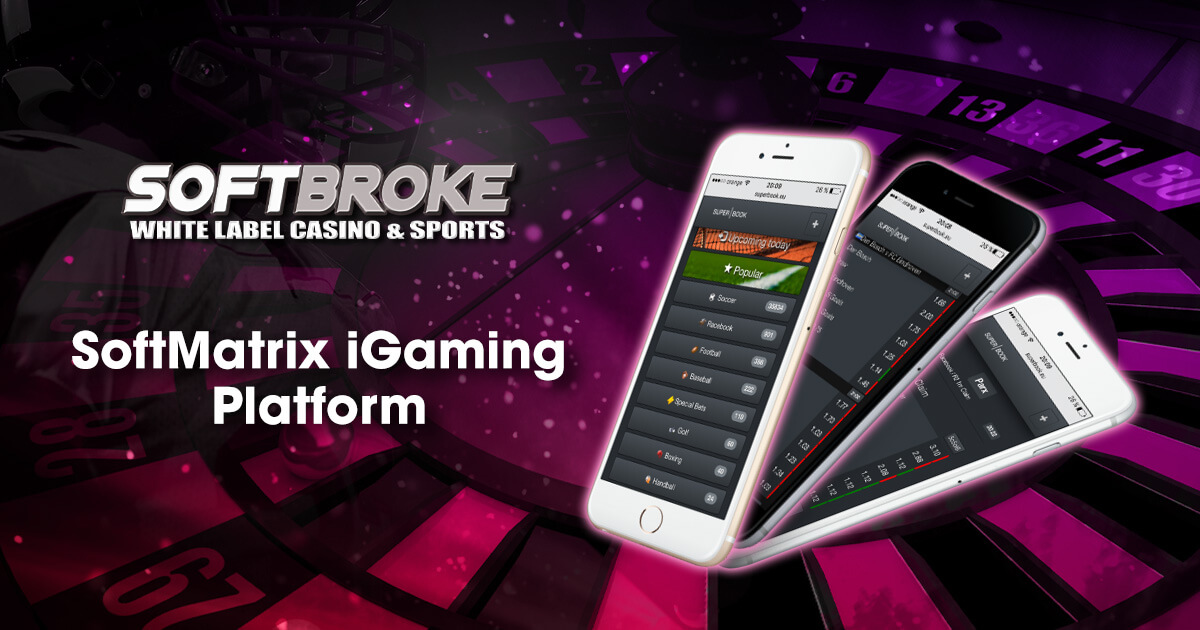 Softbroke Offers Open Source Code System with SoftMatrix iGaming Platform