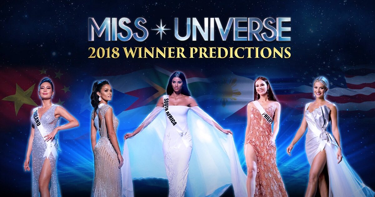 Top 5 Candidates Predicted to Win Miss Universe 2018