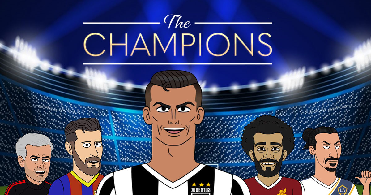 Ronaldo, Other Champions League Players Star in Spoof Series
