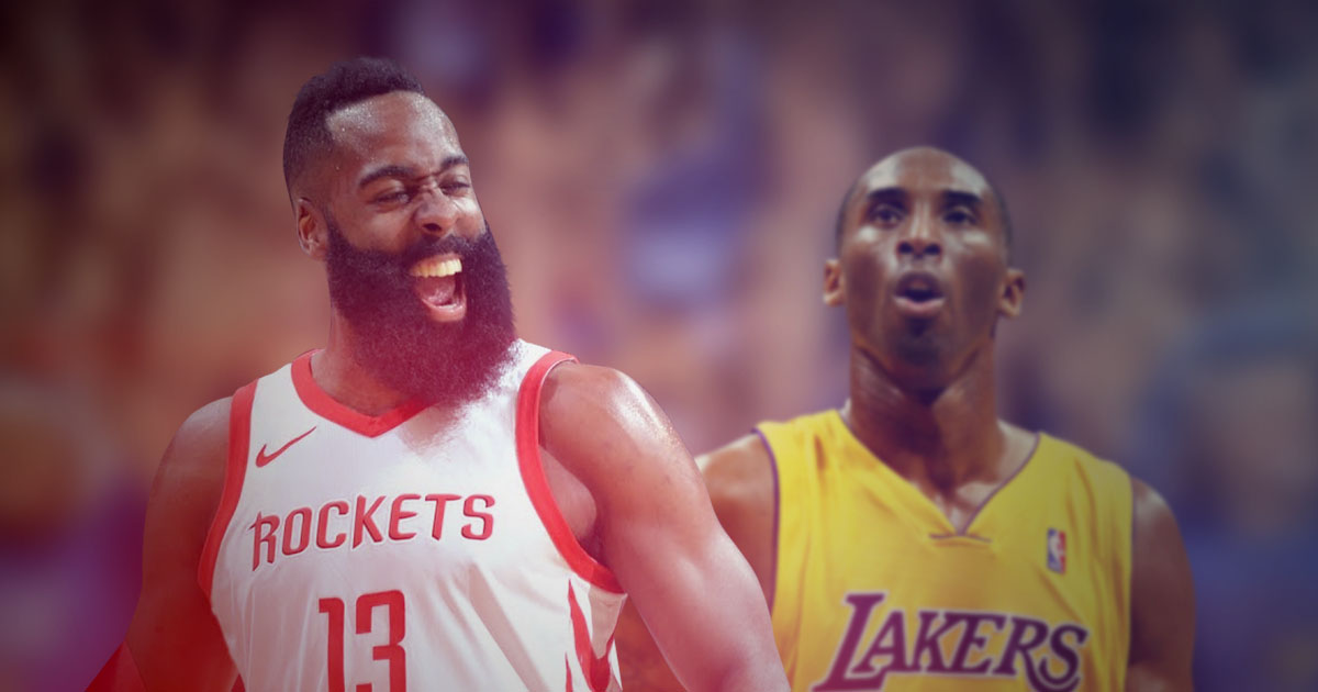 James Harden Ties with Kobe Bryant's Streak of 16 Consecutive 30-Point Games