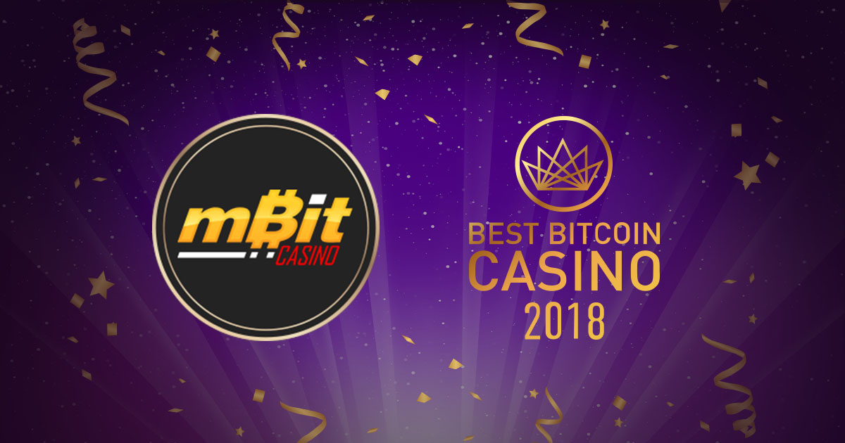 PRESS RELEASE: BestBitcoinCasino.com Names mBit Casino the Best Bitcoin Casino of 2018