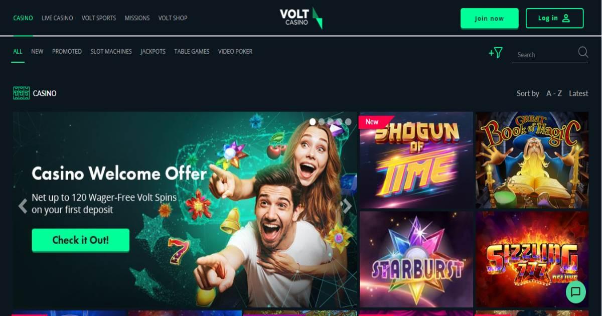 Volt Casino Image 1