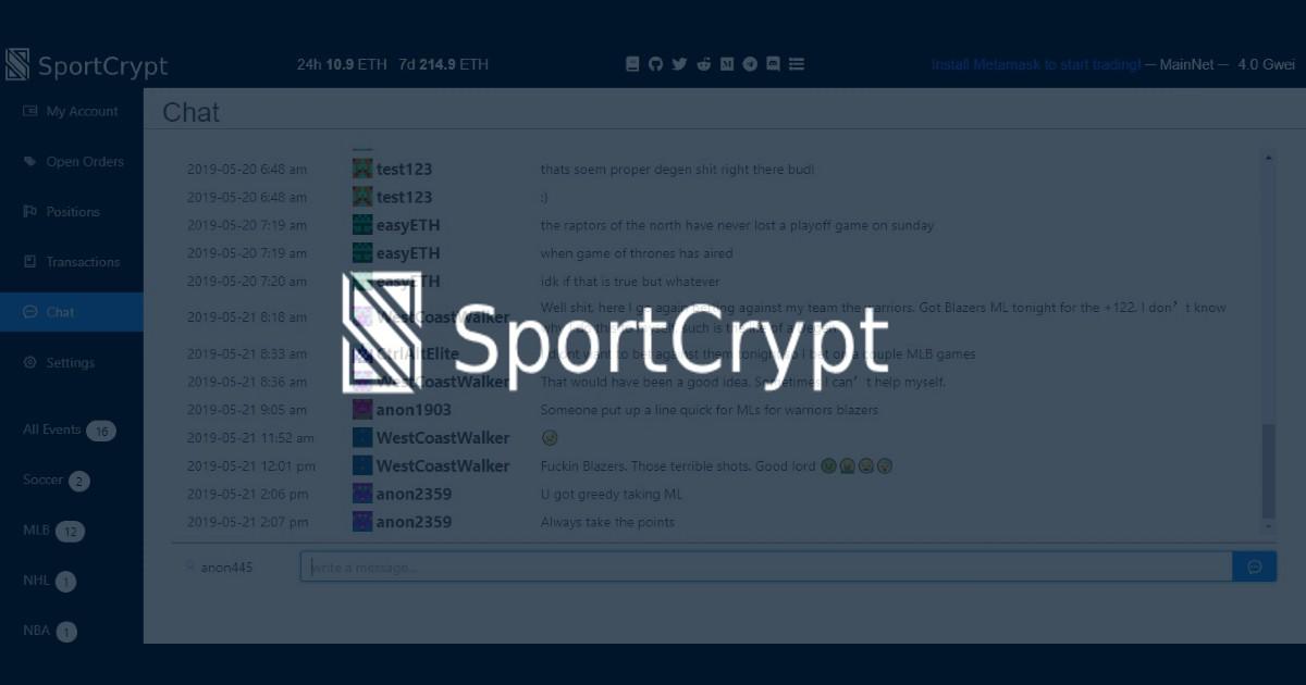 SportCrypt Image 0