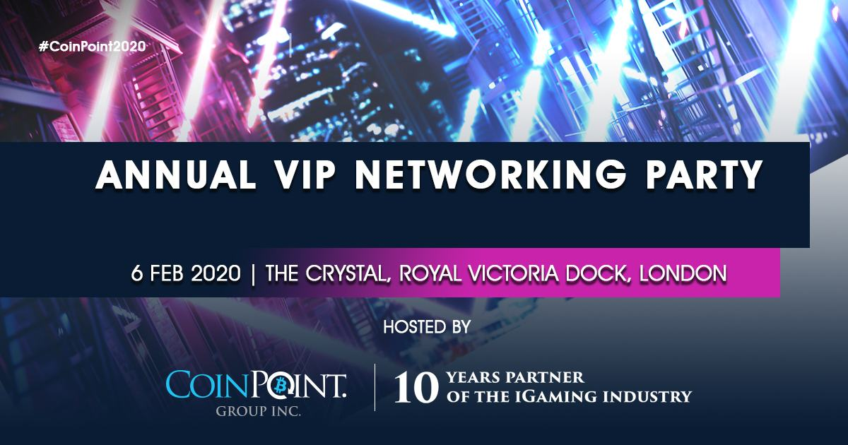 The iGaming Industry Meets Blockchain Business on February 6th, 2020 During Its Annual VIP Networking Party