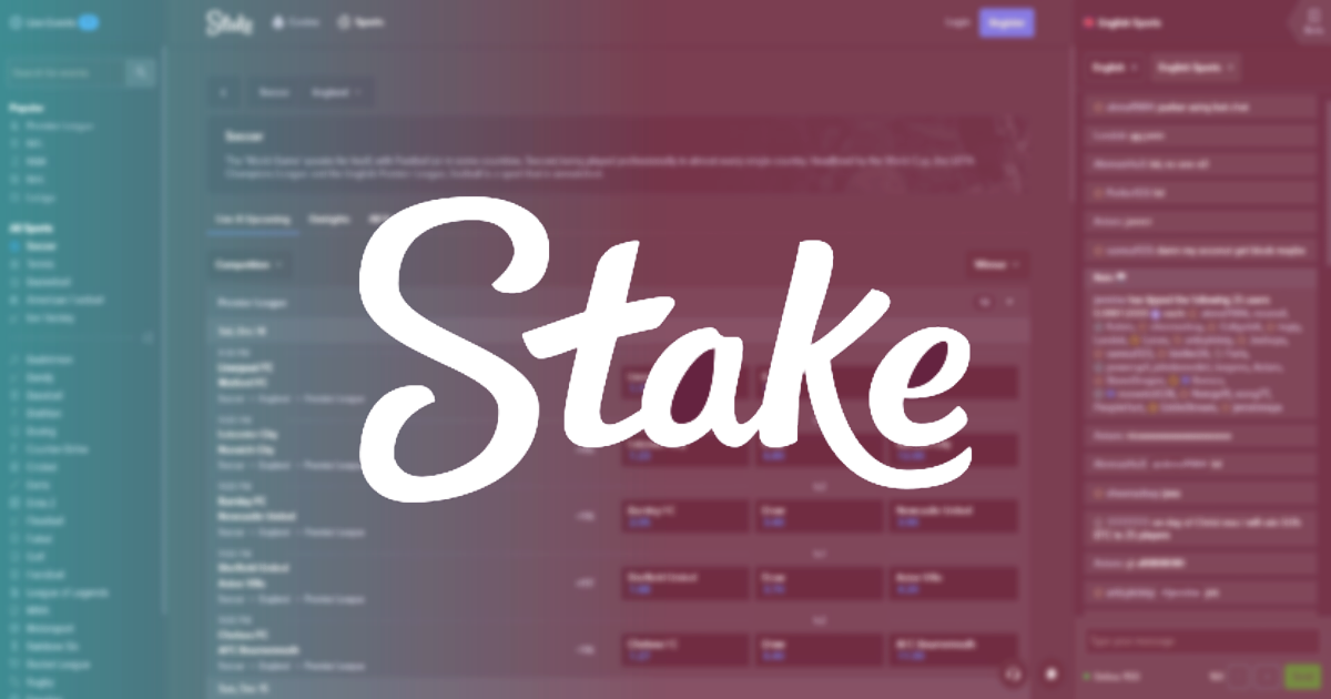 Stake.com-BetRadar Partnership Gives Birth to New Crypto Sportsbook